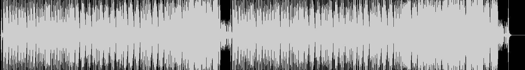 怪しげで渋いベースエレクトロサウンドの未再生の波形