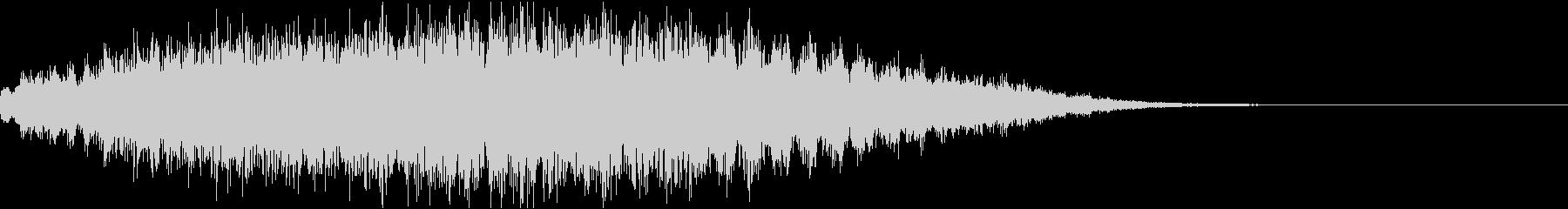 ワープ・転送・上昇音の未再生の波形