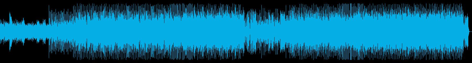 Disco music パーティチューンの再生済みの波形