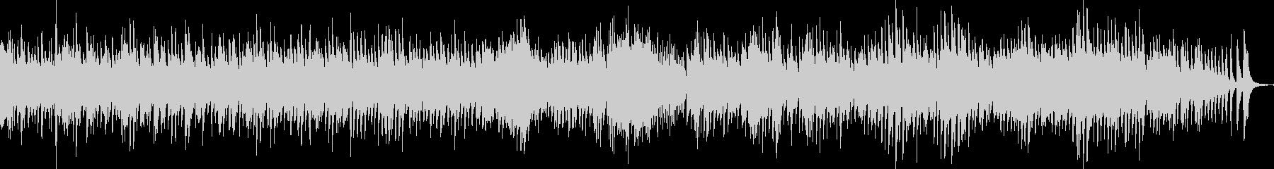 ハープメインの静かな小オーケストラの未再生の波形