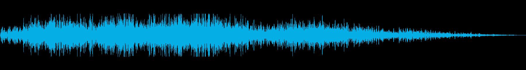大型宇宙爆発、SCI FI宇宙爆発の再生済みの波形