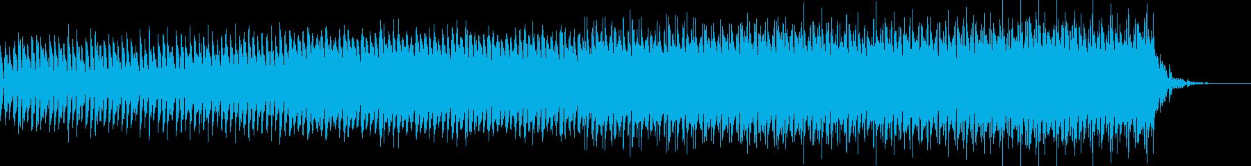 作戦/エントリ テクノアンビエント60秒の再生済みの波形