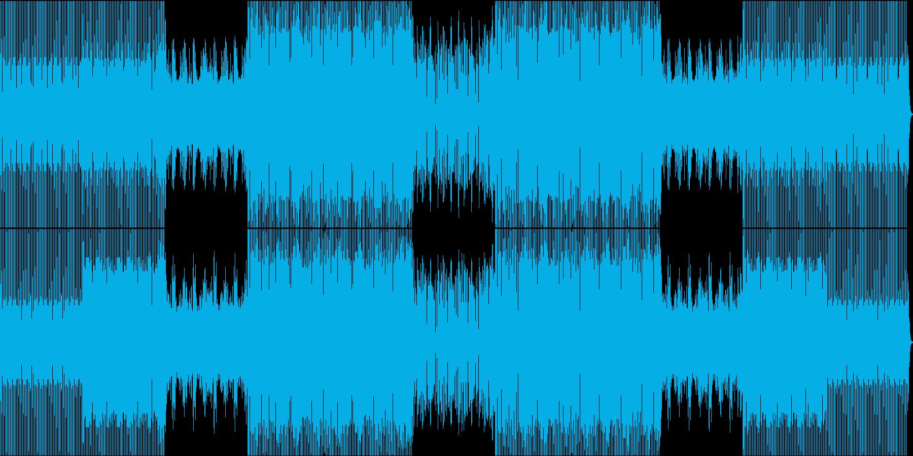 ディスコとファンク、ハウス、ダイナ...の再生済みの波形