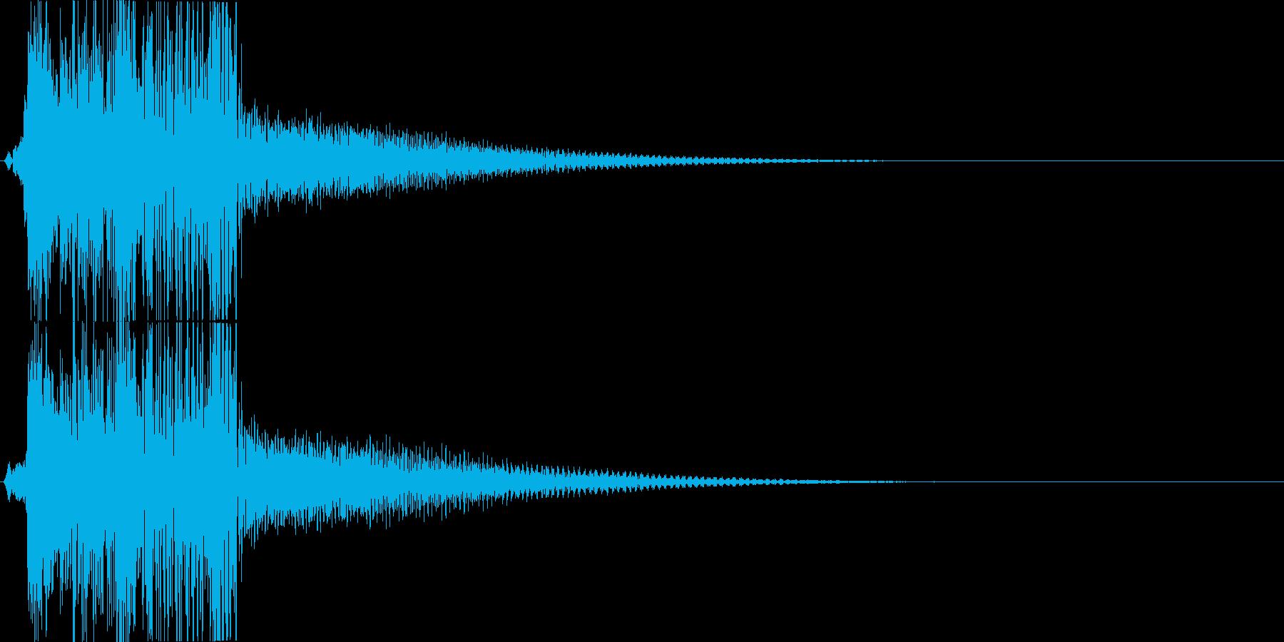 KANT 巨大ロボット系機械の足音4の再生済みの波形