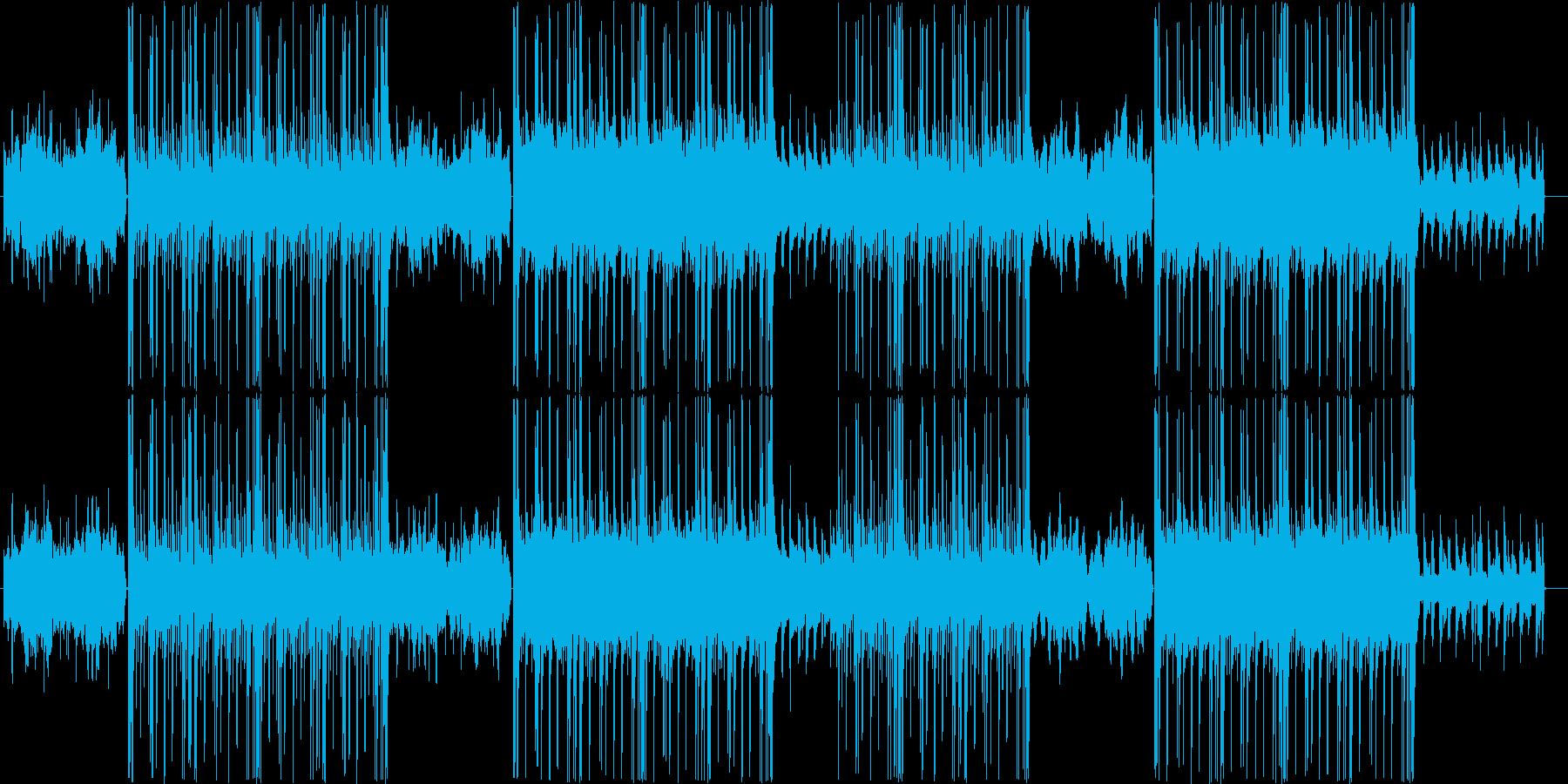 ローファイ、チルアウト、トラップR&B♪の再生済みの波形