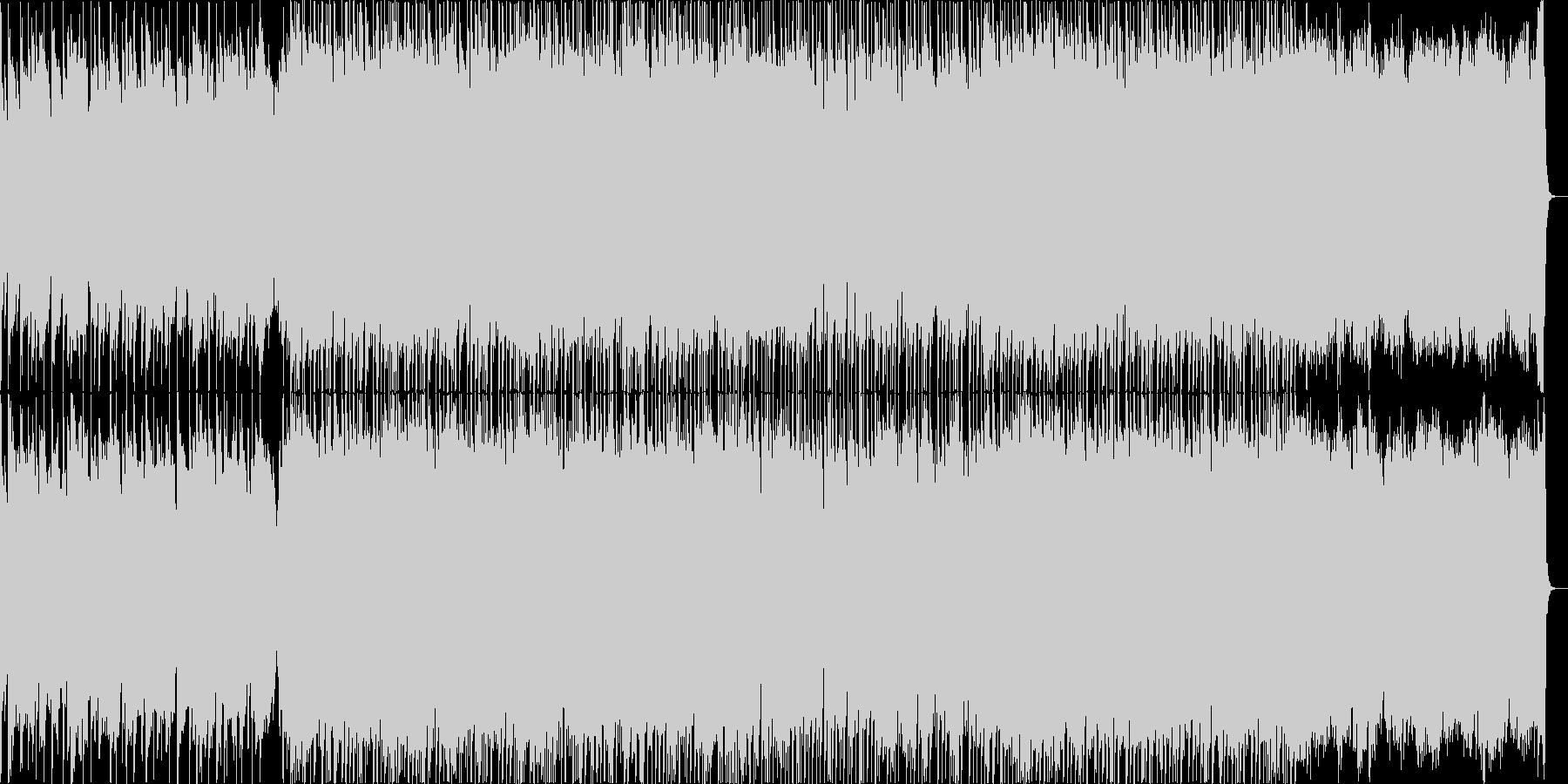 懐かしく温まるアコースティック主調の楽曲の未再生の波形