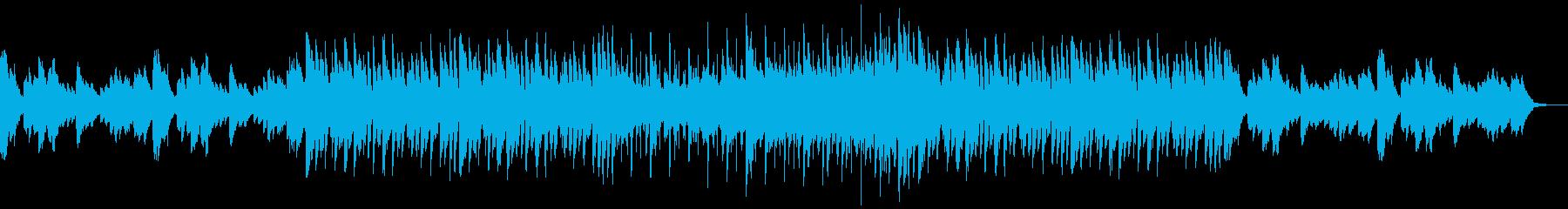 メロディアスでクールなハウスの再生済みの波形