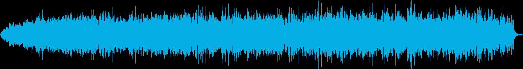 重量感のあるサウンドが癖になるテクノの再生済みの波形