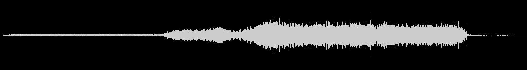 EXT:右からのリバースメディ、ス...の未再生の波形