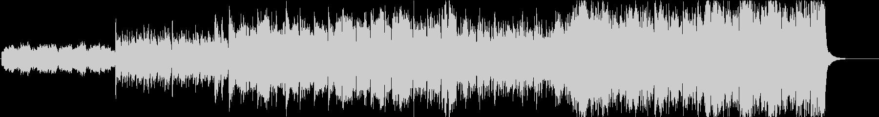 グロッケン主体のメルヘンなオーケストラの未再生の波形