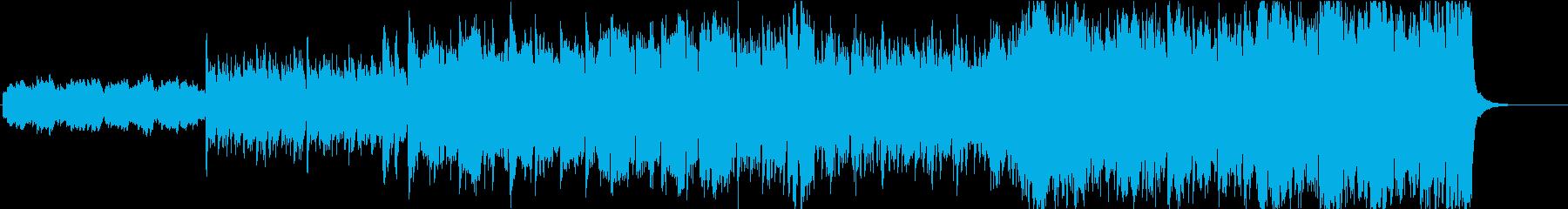 グロッケン主体のメルヘンなオーケストラの再生済みの波形
