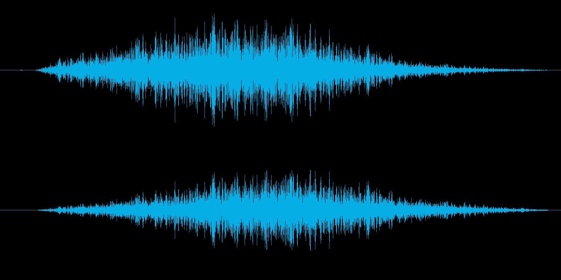 シュワー/スワイプや場面転換に最適です1の再生済みの波形