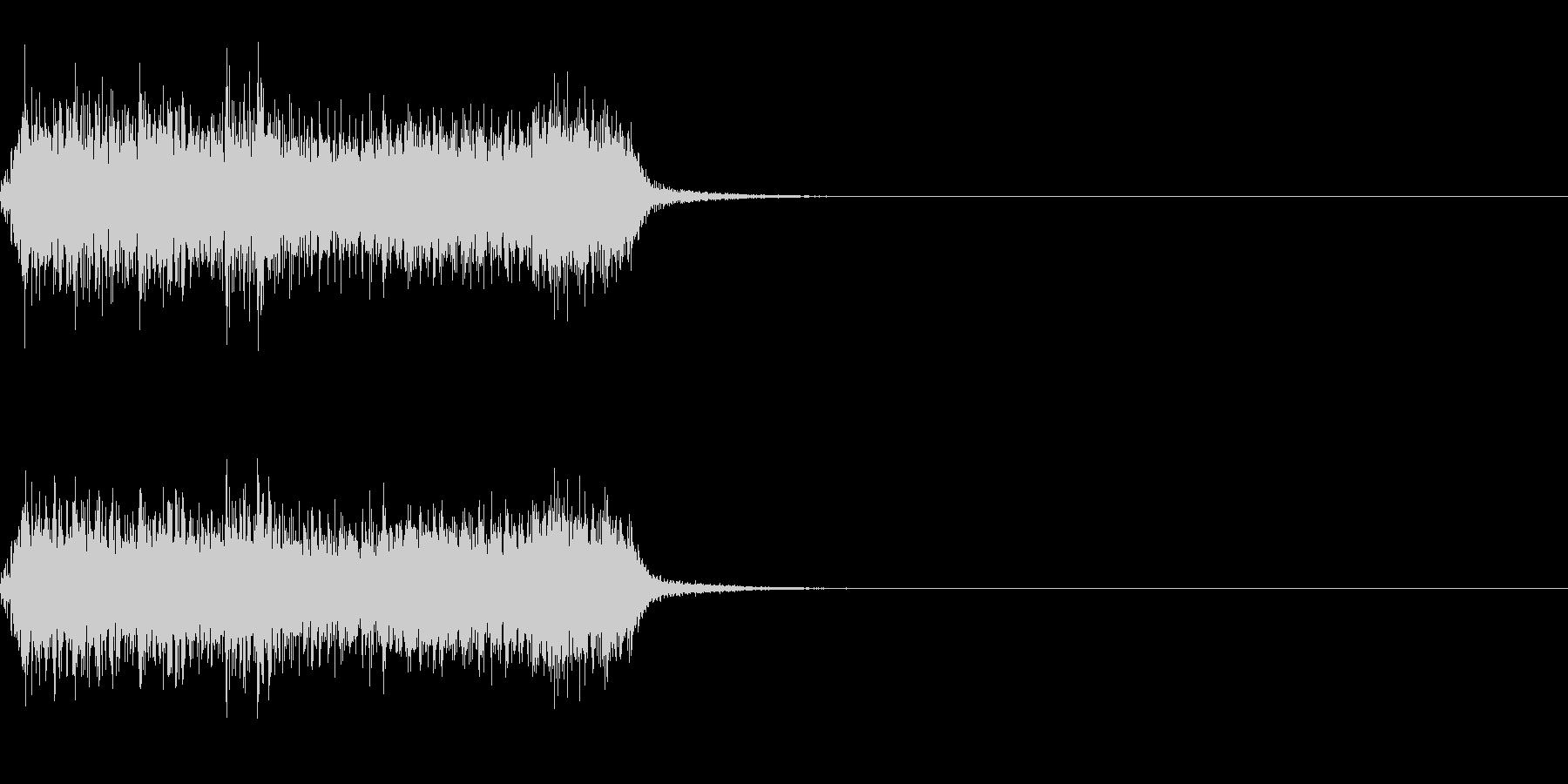 スパーク音-25の未再生の波形