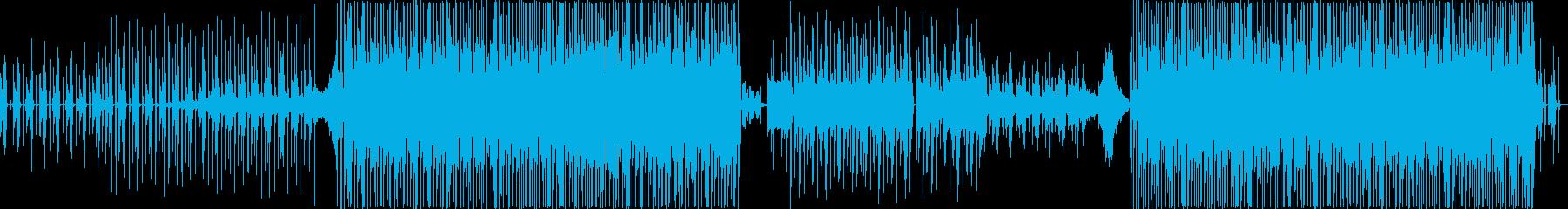 トロピカル・おしゃれ・軽快BGMメロなしの再生済みの波形