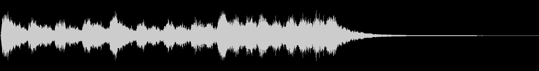 効果音A : 乗り物 発車 到着の未再生の波形