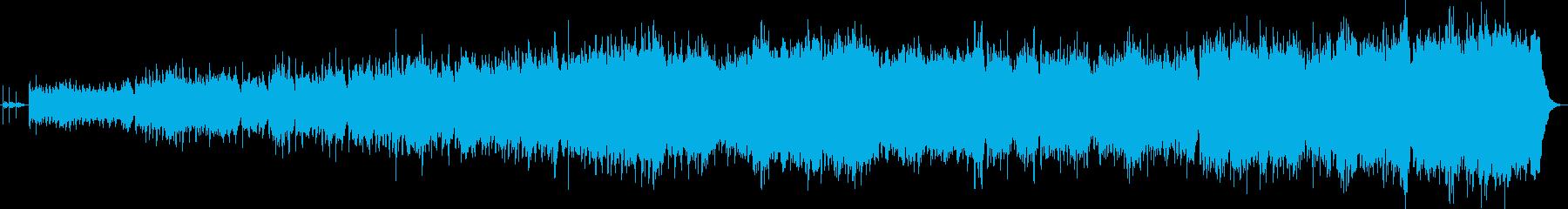 スペイン風で四拍子のボレロ。壮大の再生済みの波形