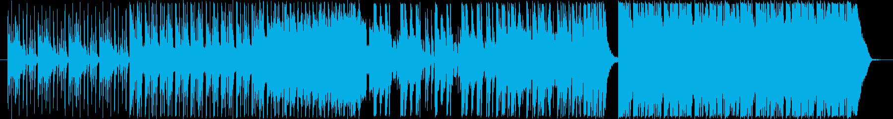 エキゾチックな最新K-POPの再生済みの波形