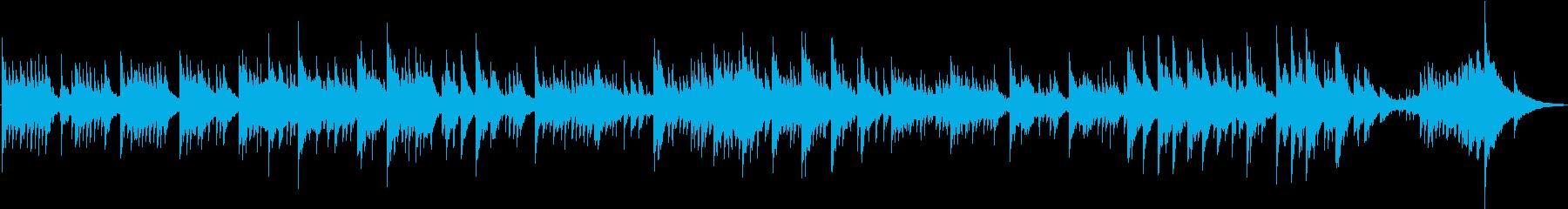 室内楽 透明感 ピアノ ハープの再生済みの波形