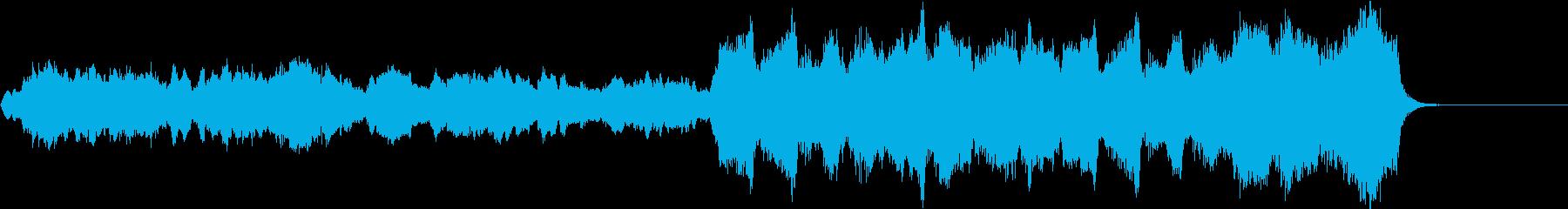 切ない別れの季節の曲/短調の再生済みの波形