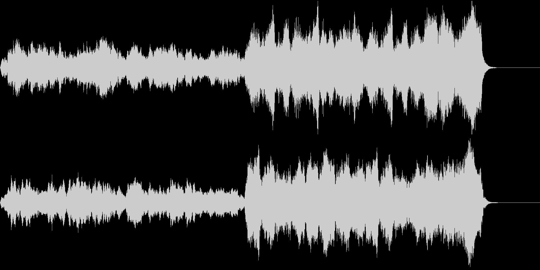 切ない別れの季節の曲/短調の未再生の波形