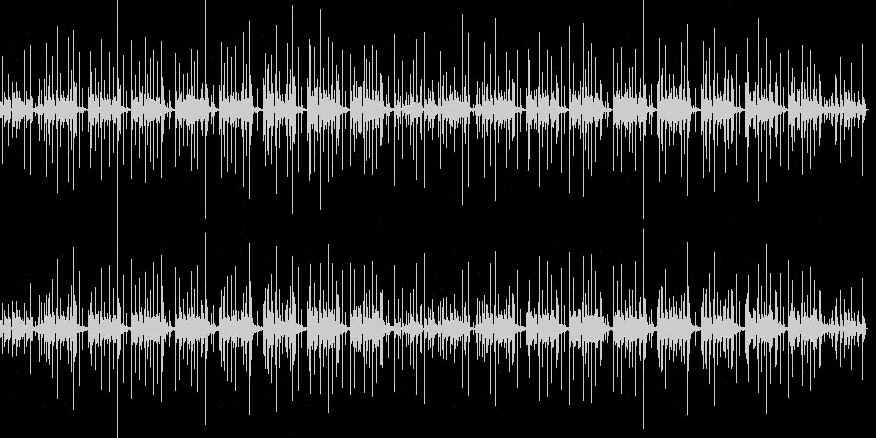シンキングタイム ループ仕様の未再生の波形