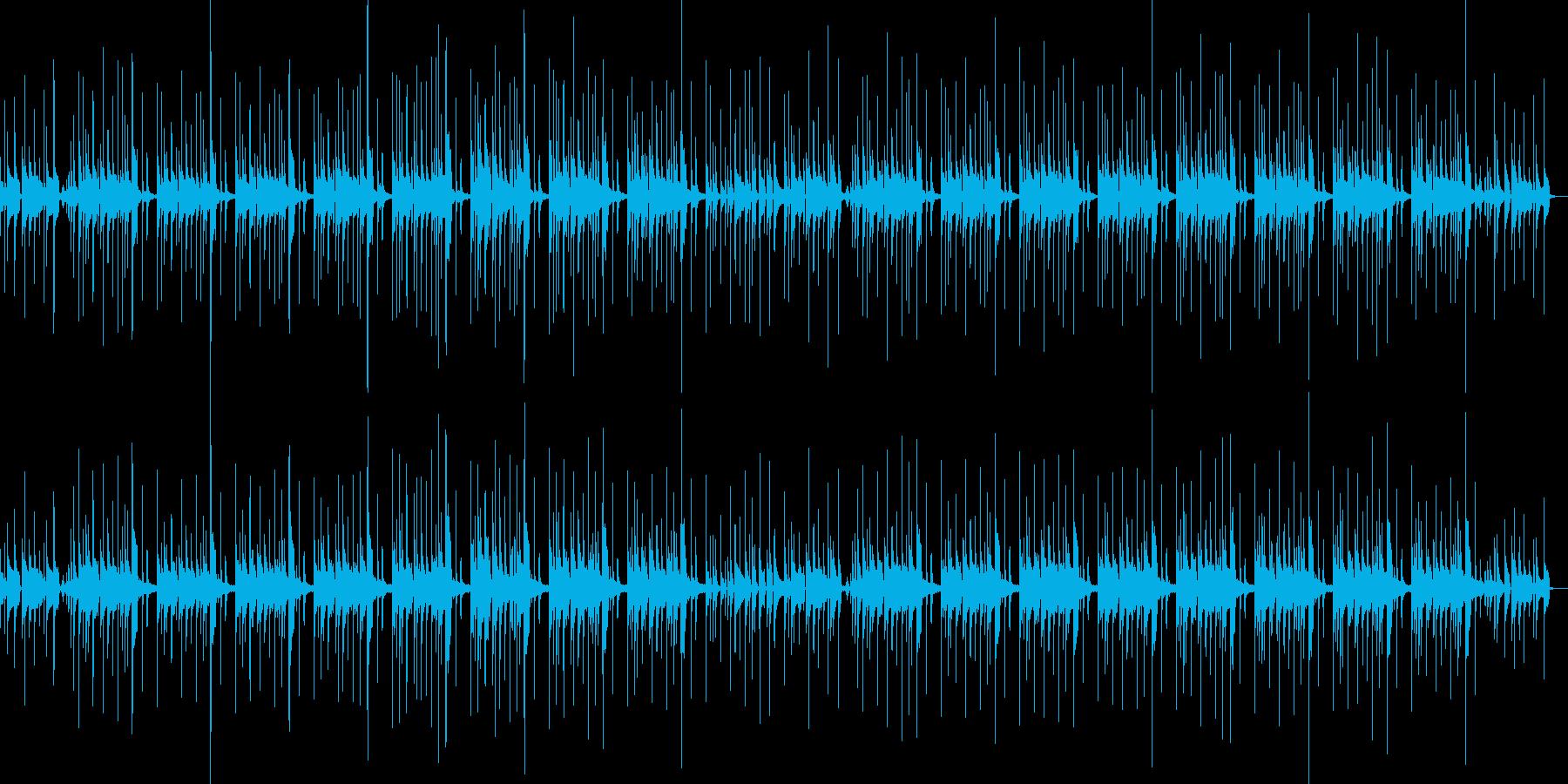 シンキングタイム ループ仕様の再生済みの波形