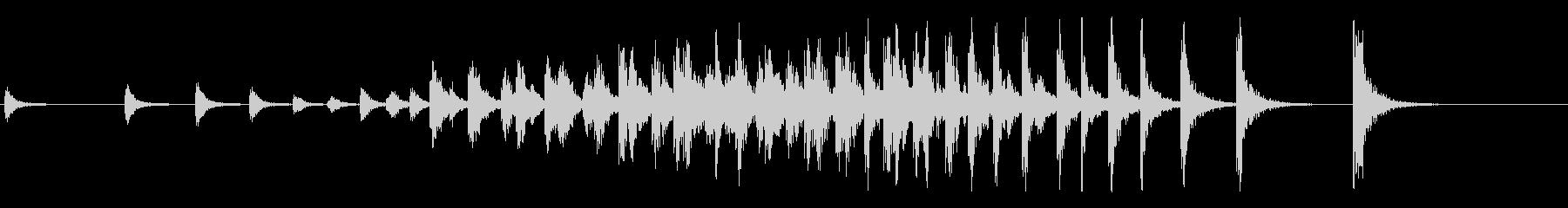 和太鼓のオープニングに最適な連打音+FXの未再生の波形