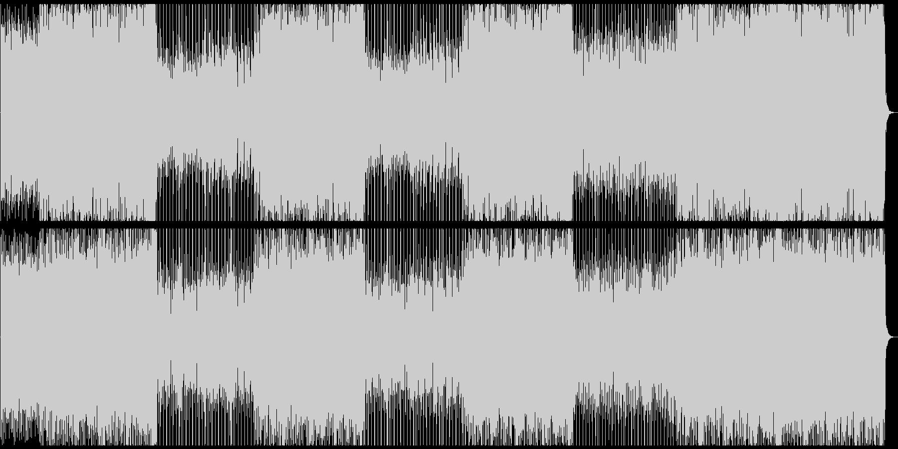 三味線と尺八の和ロック!の未再生の波形