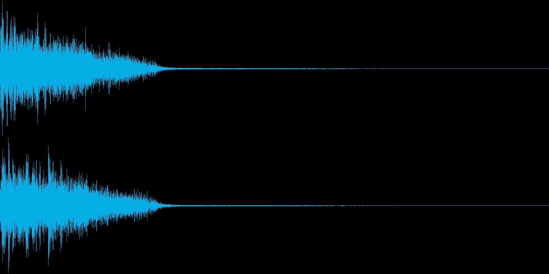 InvaderBuzz 発砲音 8の再生済みの波形