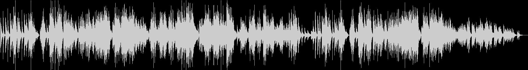 10月 秋の歌/チャイコフスキー・アコギの未再生の波形