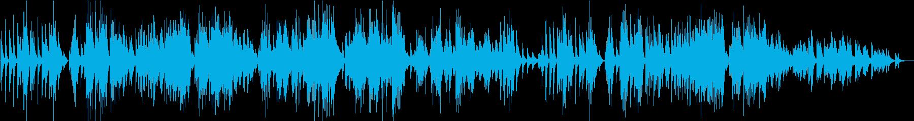 10月 秋の歌/チャイコフスキー・アコギの再生済みの波形