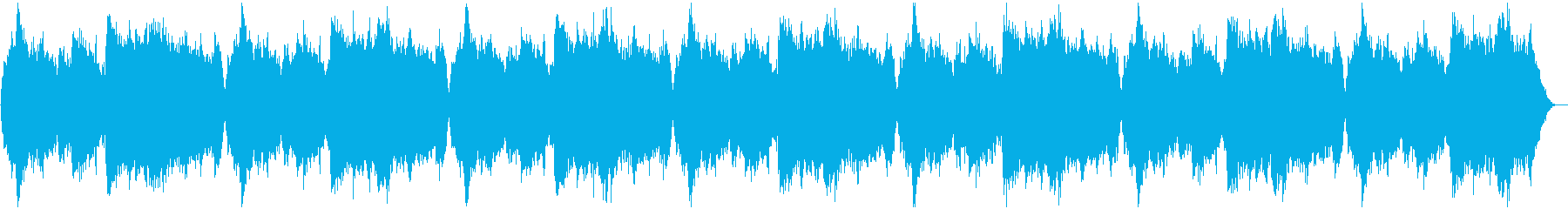 Melody that feels a sad start's reproduced waveform