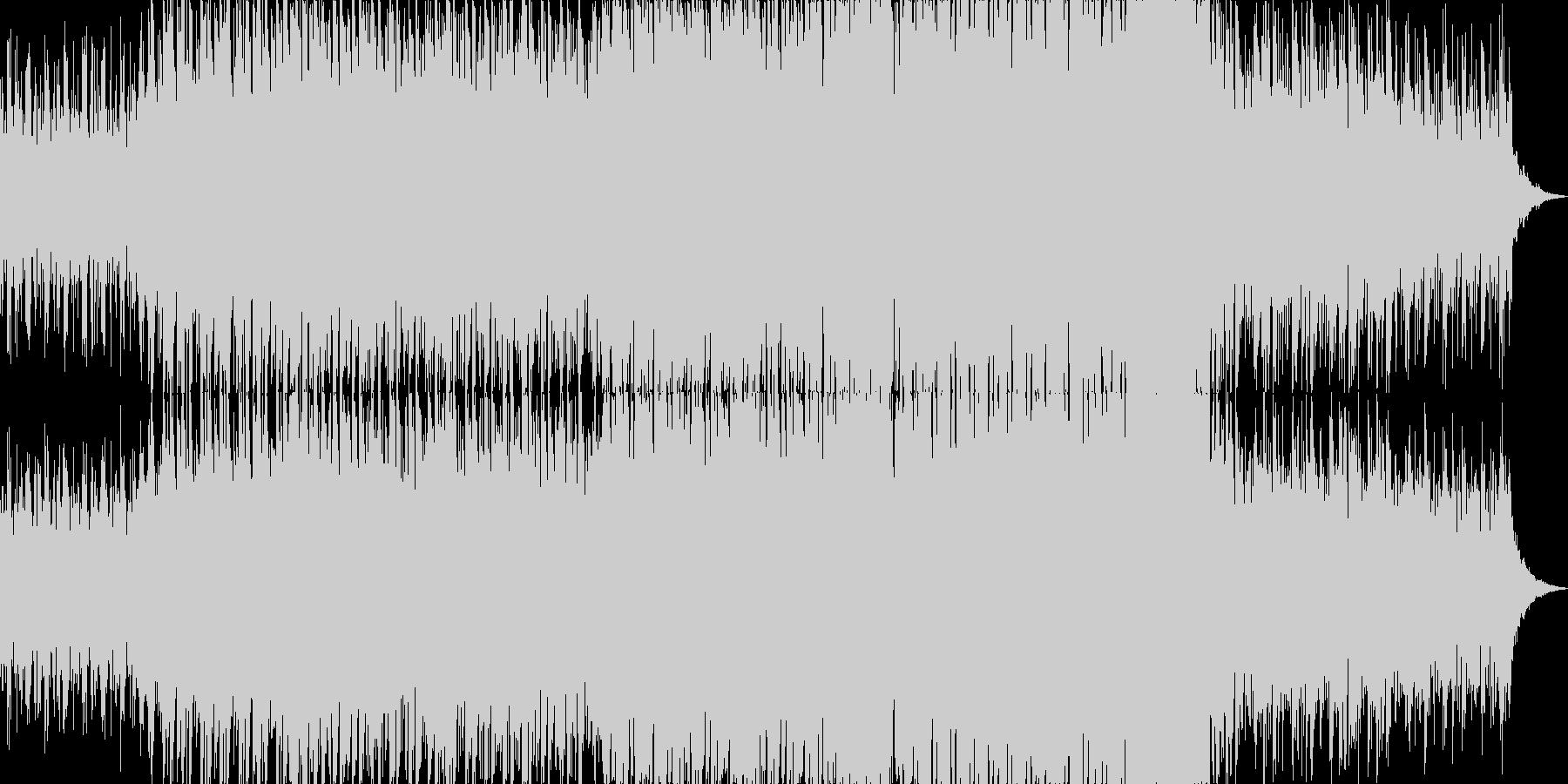 メロディックでポップなドラムンベースの未再生の波形