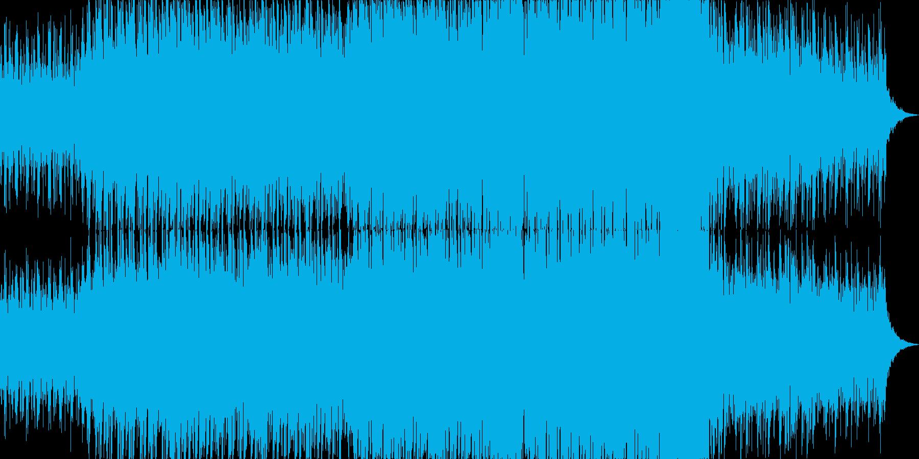メロディックでポップなドラムンベースの再生済みの波形