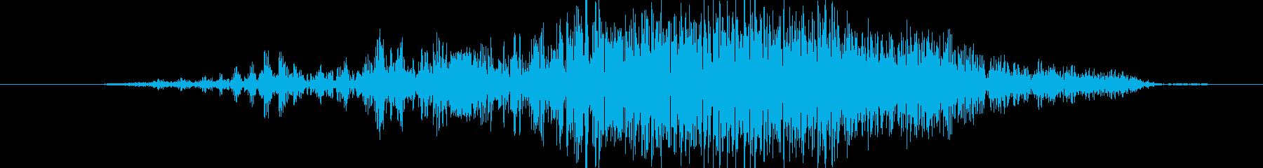 ヒューマノイド 魚人の樹皮05の再生済みの波形