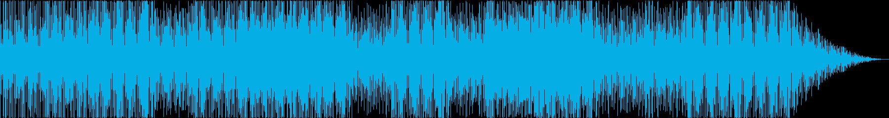 リゾートミュージックの再生済みの波形
