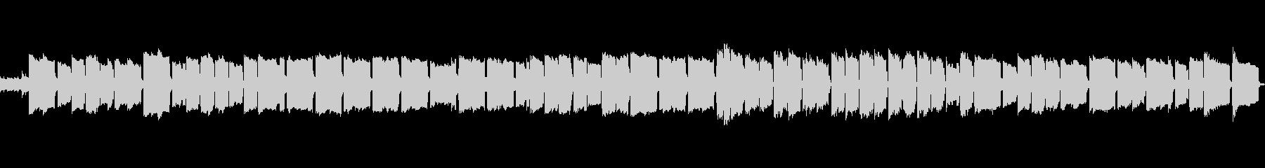 ほのぼのとしたオカリナの曲の未再生の波形