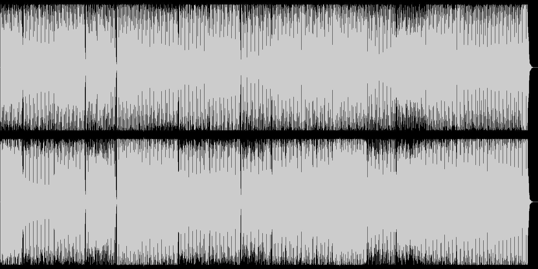明るくシンセザイザーの独特な音が面白いの未再生の波形