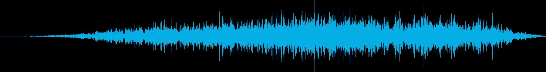 プーマ(クーガー)ヒス。長い、喉のヒス。の再生済みの波形