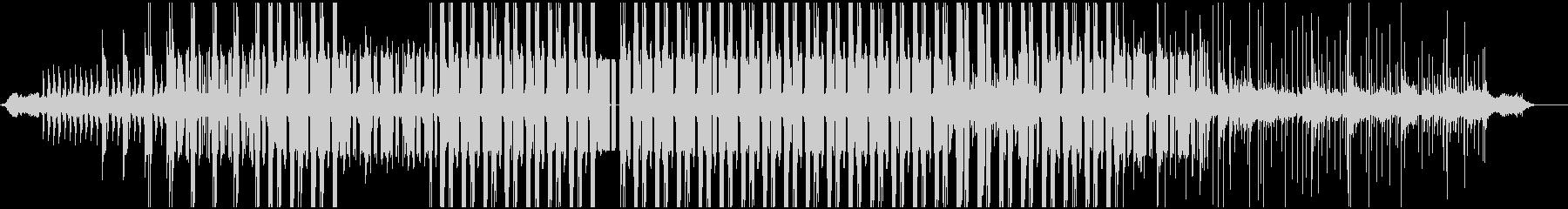 カリンバ音を使用した不思議なイメージの未再生の波形