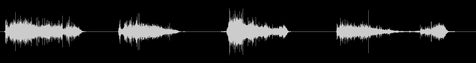 ほうきをかける効果音 03の未再生の波形