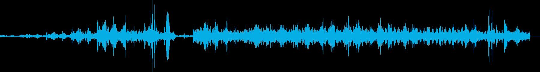 高速デジタルデータ転送4の再生済みの波形