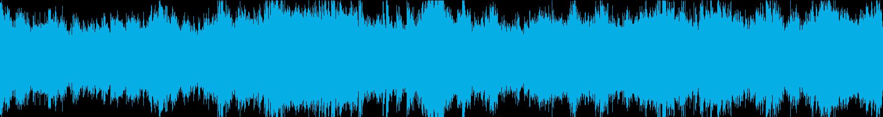 30秒でサビ、さわやか/静かめループの再生済みの波形
