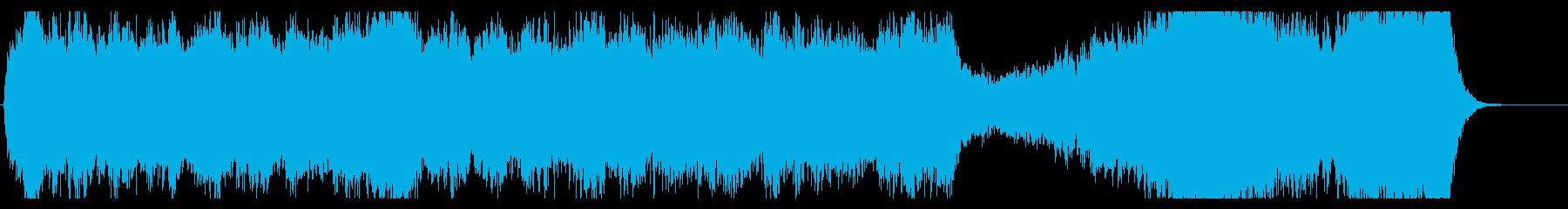 感動エモーショナルメロディーオーケストラの再生済みの波形