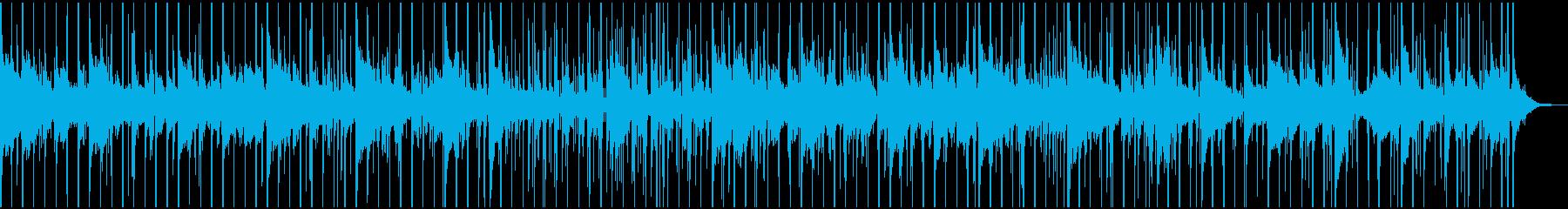 謎解き、推理中、ミステリー調のBGMの再生済みの波形
