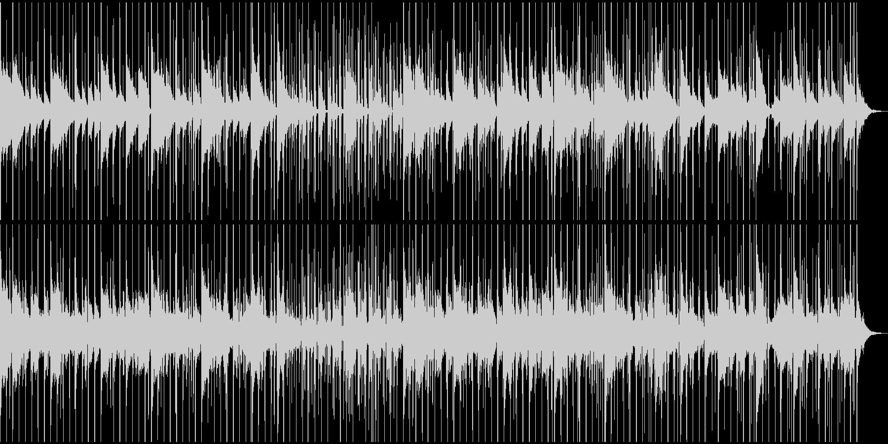 謎解き、推理中、ミステリー調のBGMの未再生の波形