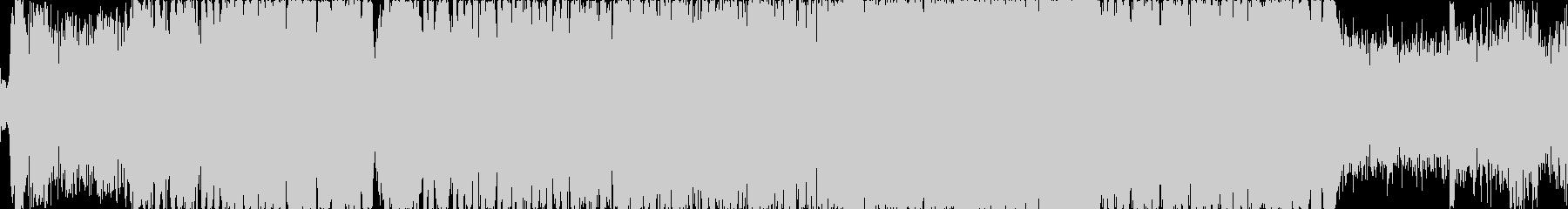 グロウルベースが主体のドラムンベースの未再生の波形