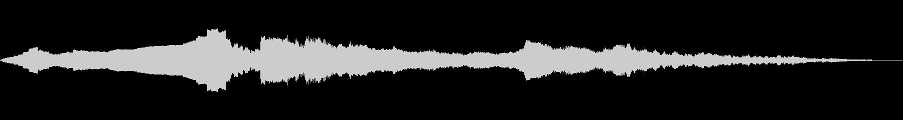 惑星軌道の未再生の波形