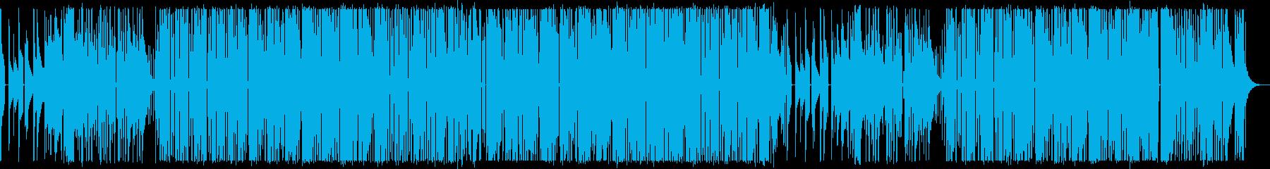 ゆったりした時間を過ごすイメージ・シンセの再生済みの波形