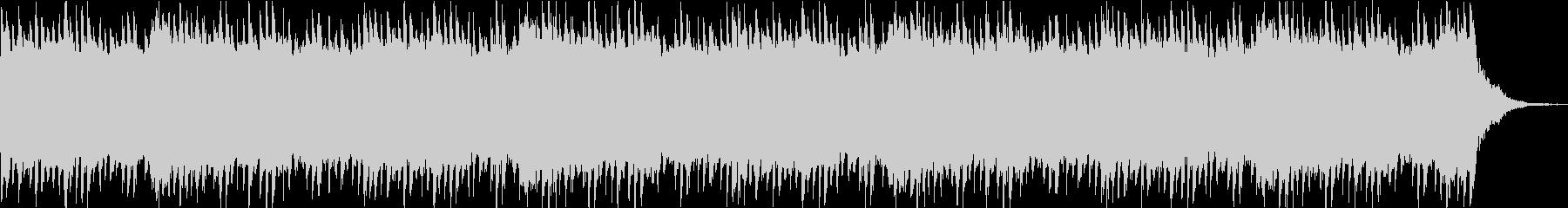 ホラー/ミステリー系 不気味なピアノ曲の未再生の波形